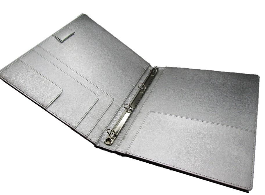 Ringbuch A4 silber